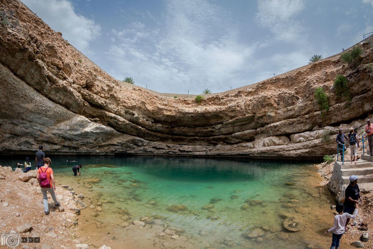 Nature's Bliss Beautiful Nature Bimmah Sinkhole Canon Muscat , Oman Nature Oman Oman_photography Sinkhole Summer