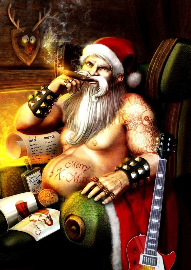 Dear children; No Presents this year! Santa lost his job! A LETTER FROM SANTA MERRY XMAS TO YOU & TO ALL A GOODNIGHT!™® ™®