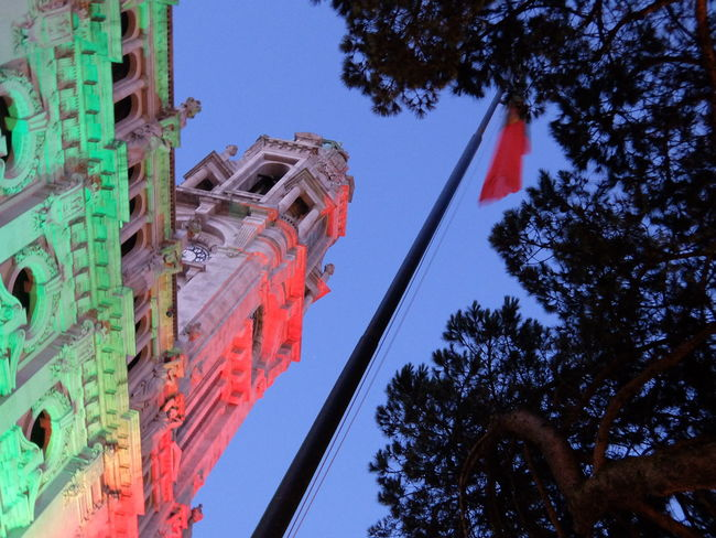 Euro 2016 Flag Green & Red Porto Portugal Town Hall Streetphotography_fujifilm 43 Golden Moments Fine Art Photography Colour Of Life