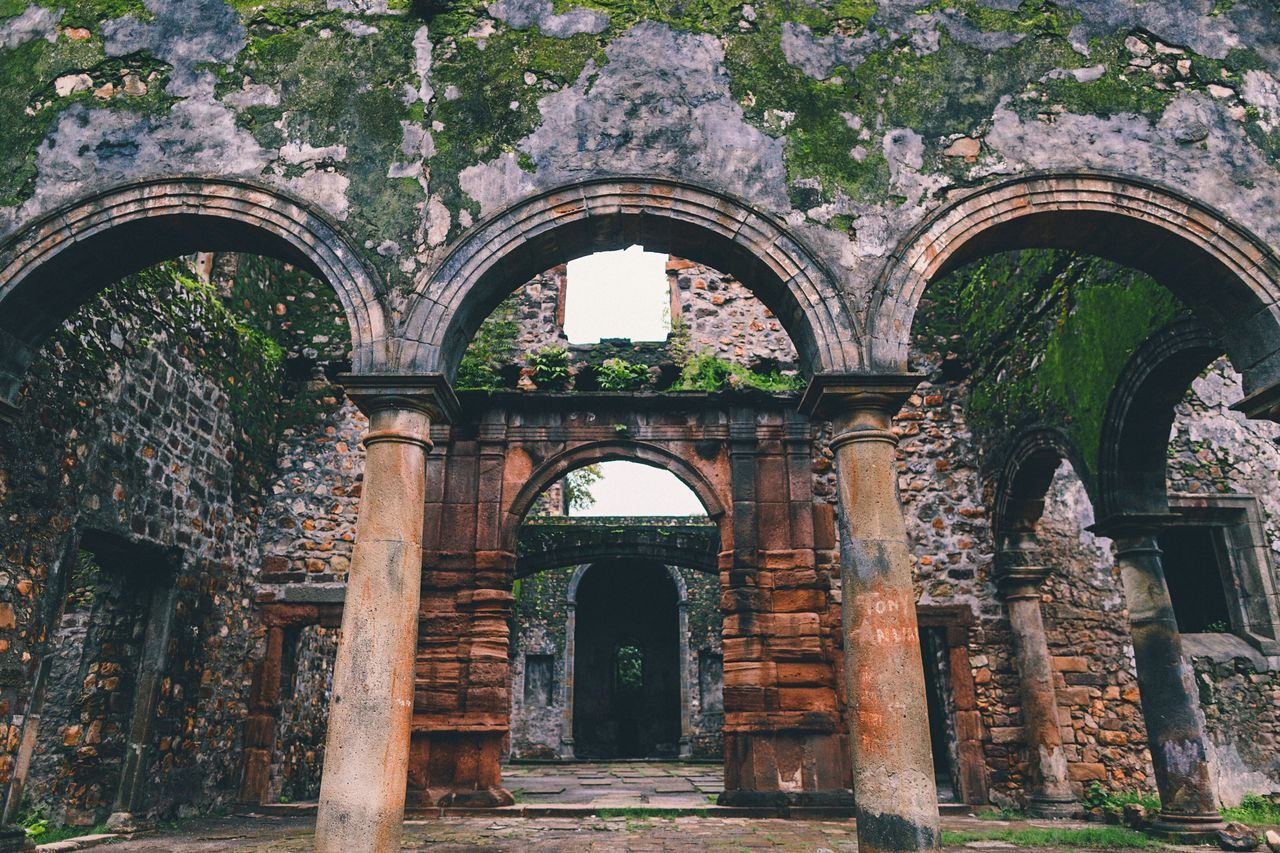 Showcase July Architecture Architecture_collection Architectural Detail Portugese Mumbai India Indiapictures Ancient Ancient Architecture Church Abandoned Abandoned Places Hidden Gems