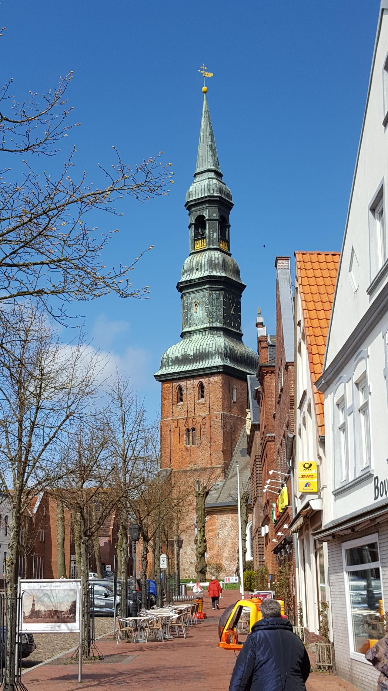 Kirche Tönning Eiderstedt