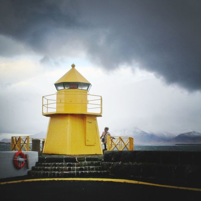 Yellow Lighthouse EyeEm Best Shots Iceland