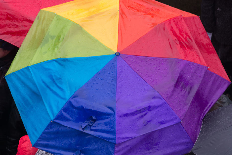 Close-up Day Multi Color Multi Colored No People Outdoors Protection Rany Day Umbrella