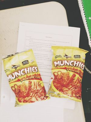 Munchies at University High School by Michelle Balingit