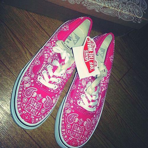 届いたっ♡ Vans New Sneakers Sneakers