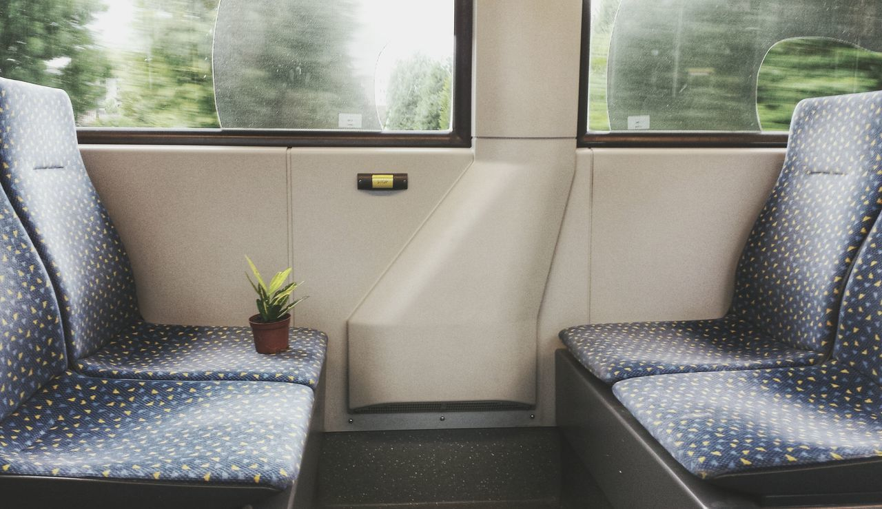 Empty Seats In Train