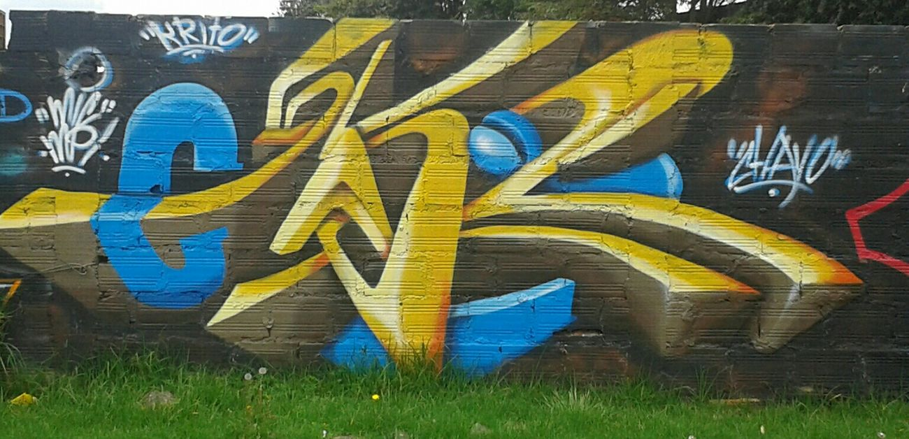 Graffiti Firma Colors Arte Arte Callejero Arte Callejero Espontaneo