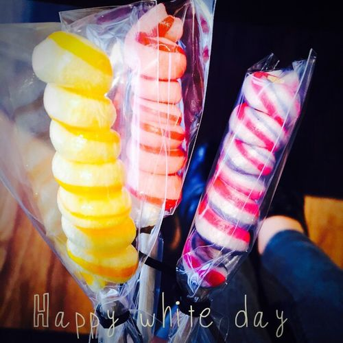 Happy weekend💕 White Day♡ Who Saturday