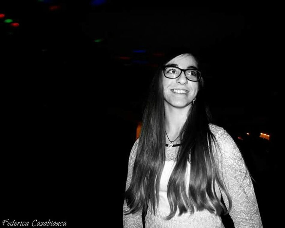 My best friend♡ Bedda Mia First Eyeem Photo Il Suo Sorriso Smile Spontaneità Black And White Photography Patatona Mia! ❤