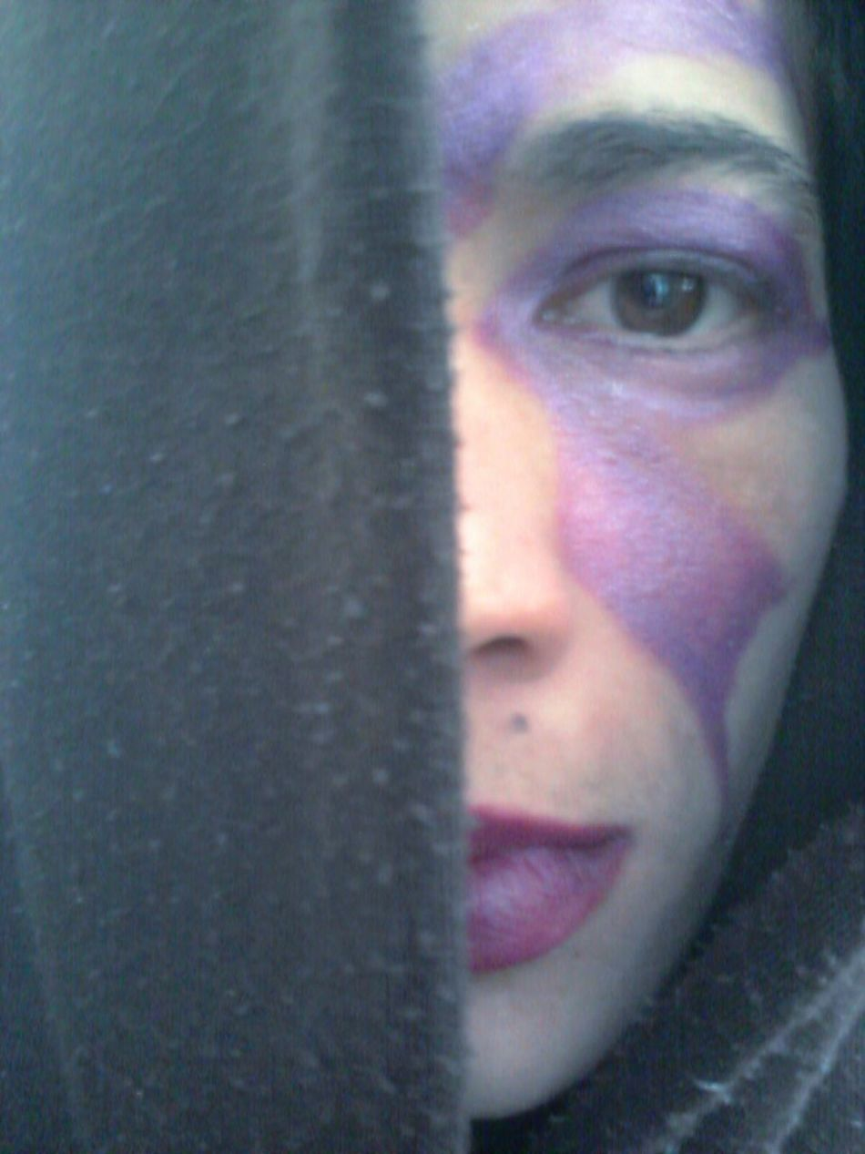 Cloaked In Mystery Finding My Inner Self  Making Faces Scars Mark Me Finding Peace Playing Around With Makeup! Feeling Dark