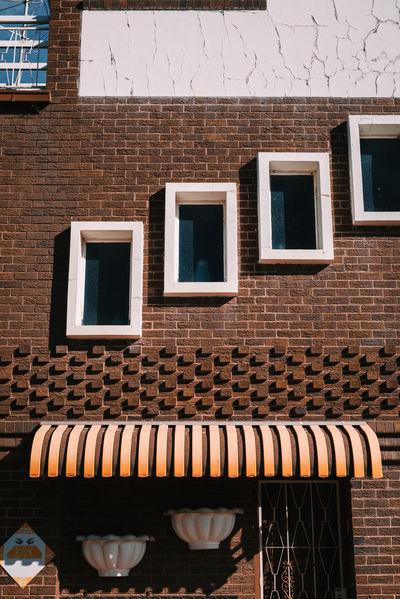 50s 60s 70s 70s Architecture Architecture Architecture_collection Pastel Power Architectural Detail Building Exterior Palette