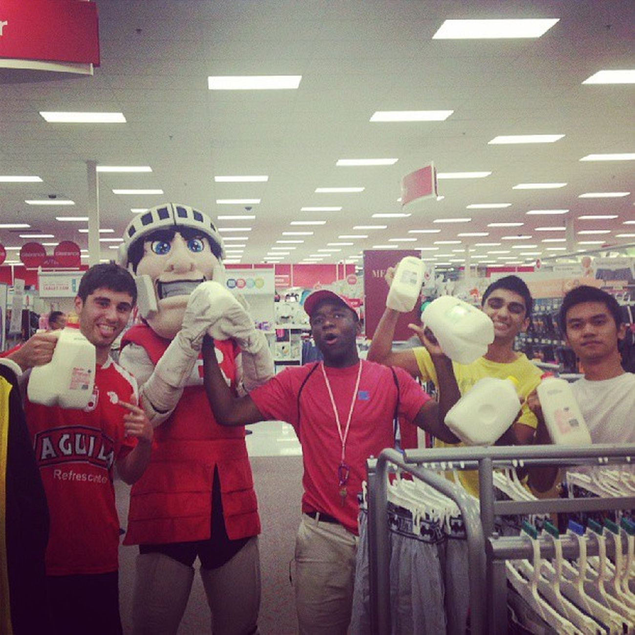 Target night before college started Rutgers Twopercent Gotmilk