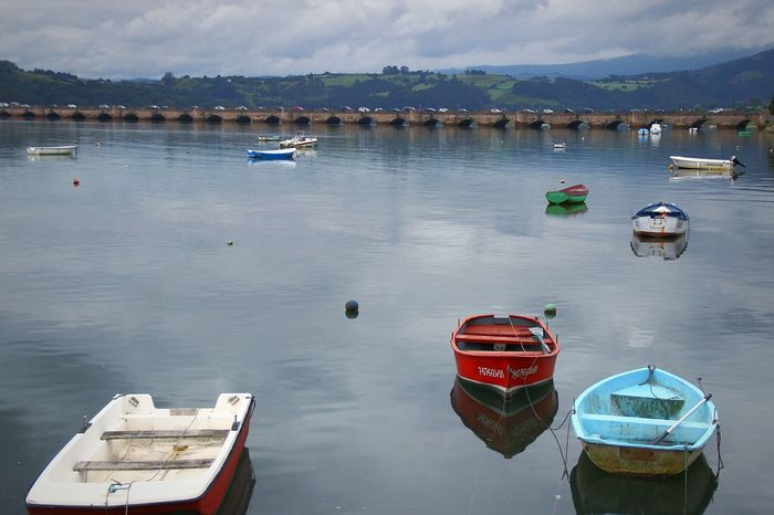 Barcas San Vicente De Barquera Water Reflection Cantabriainfinita Eyem Best Shots Like4like Eye4photography