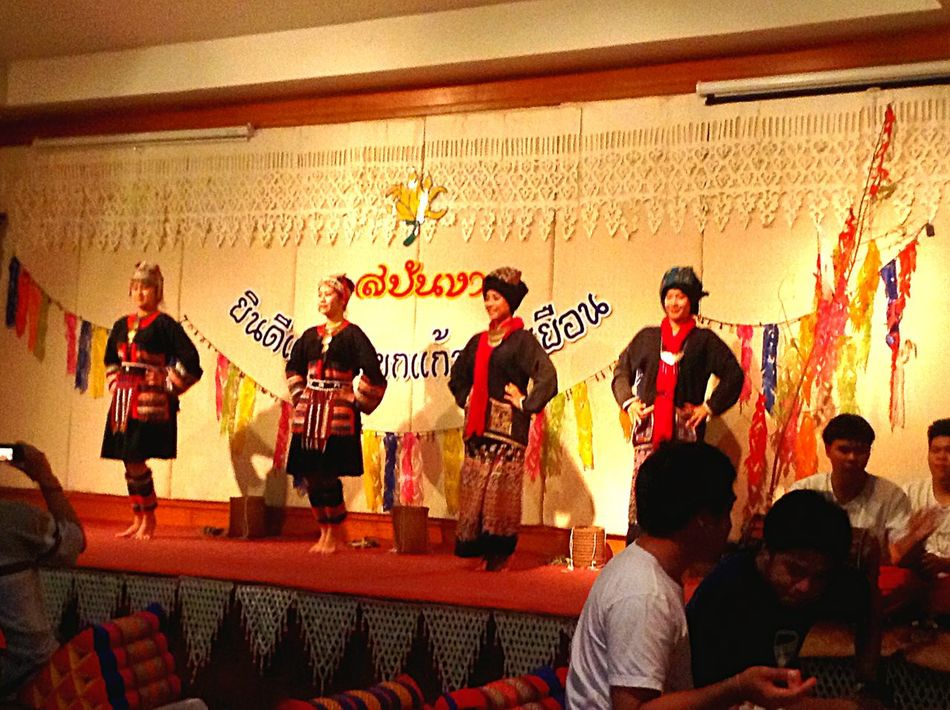 Traditional Dance Show Traditional Restaurant North Of Thailand Traditionalfood Traditional Costume Traditional Culture Travel By Puk✈️ Eye Em Around The World Eye4photography