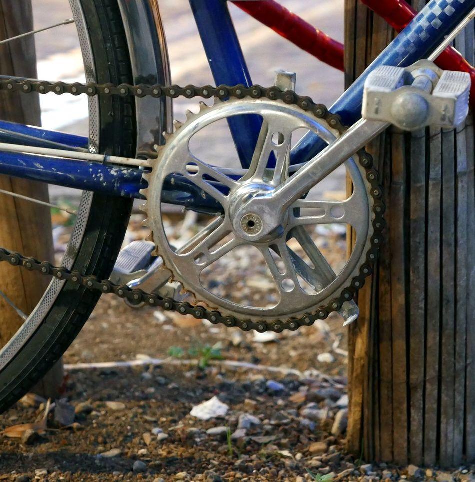 Bike Chain Bike Close Up