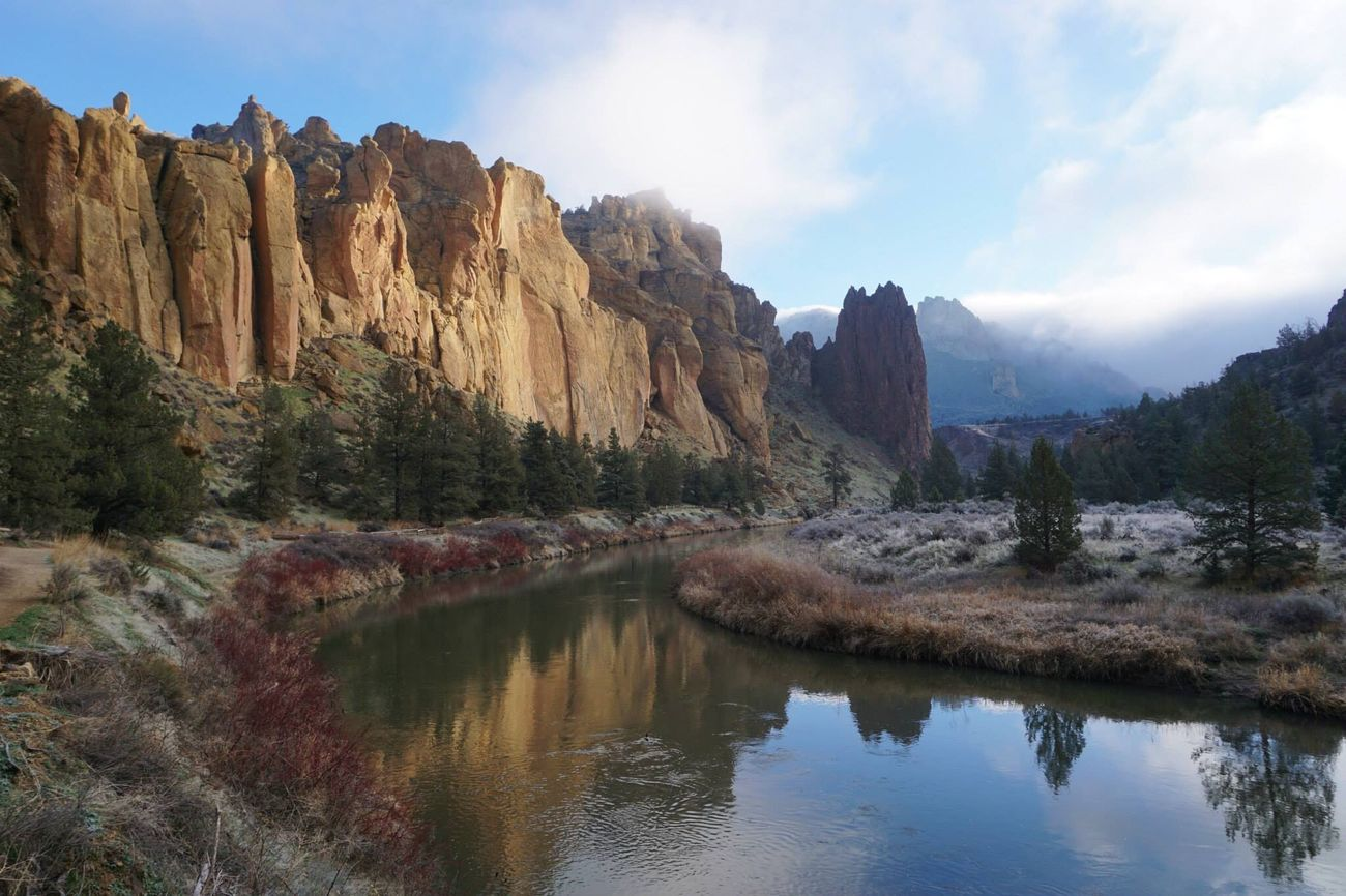 Smith Rock State Park Camping Central Oregon Adventure