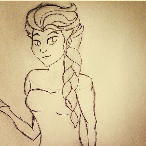 Old fanart ^_^ Fanart Frozen My Drawings Drawing