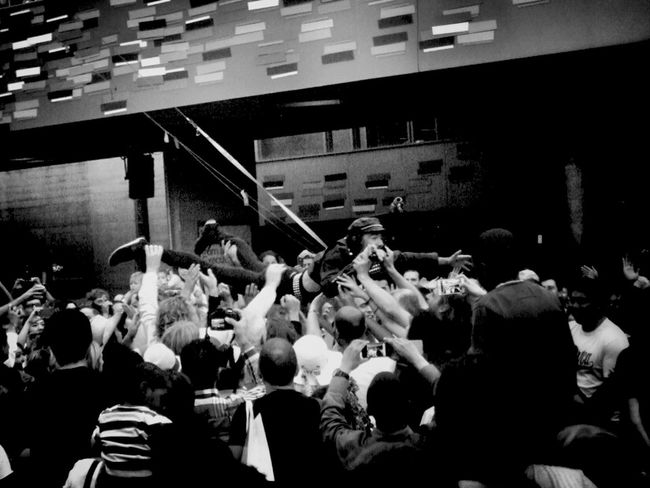 Crowd surfer Concert Blackandwhite London Streetphoto_bw Picoftheday Eye4music