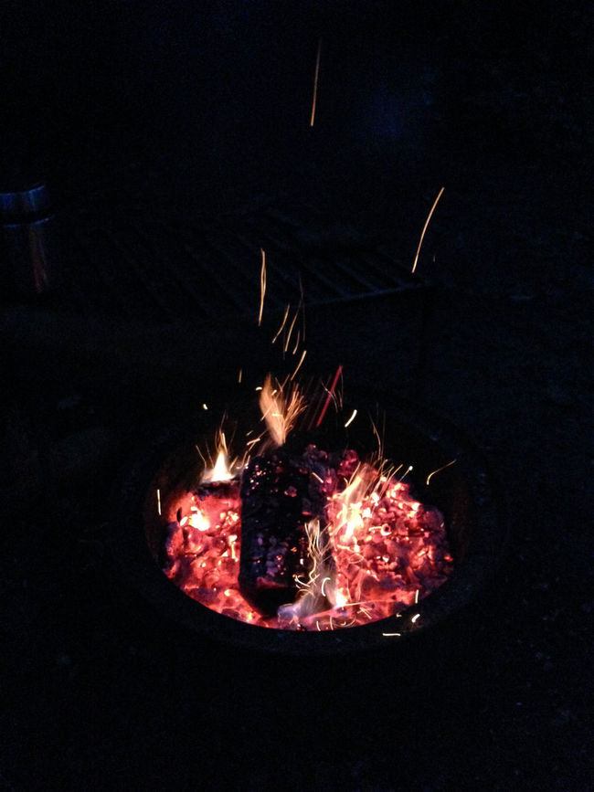 Burning Campfire Camping Cosy Exploding Fire Fire - Natural Phenomenon Fire Pit Firepit Fireplace Firework - Man Made Object Firework Display Flame Flame Glowing Heat - Temperature Illuminated Lit Night Lights Night Photography No People Sparks Sparks Fly Camp