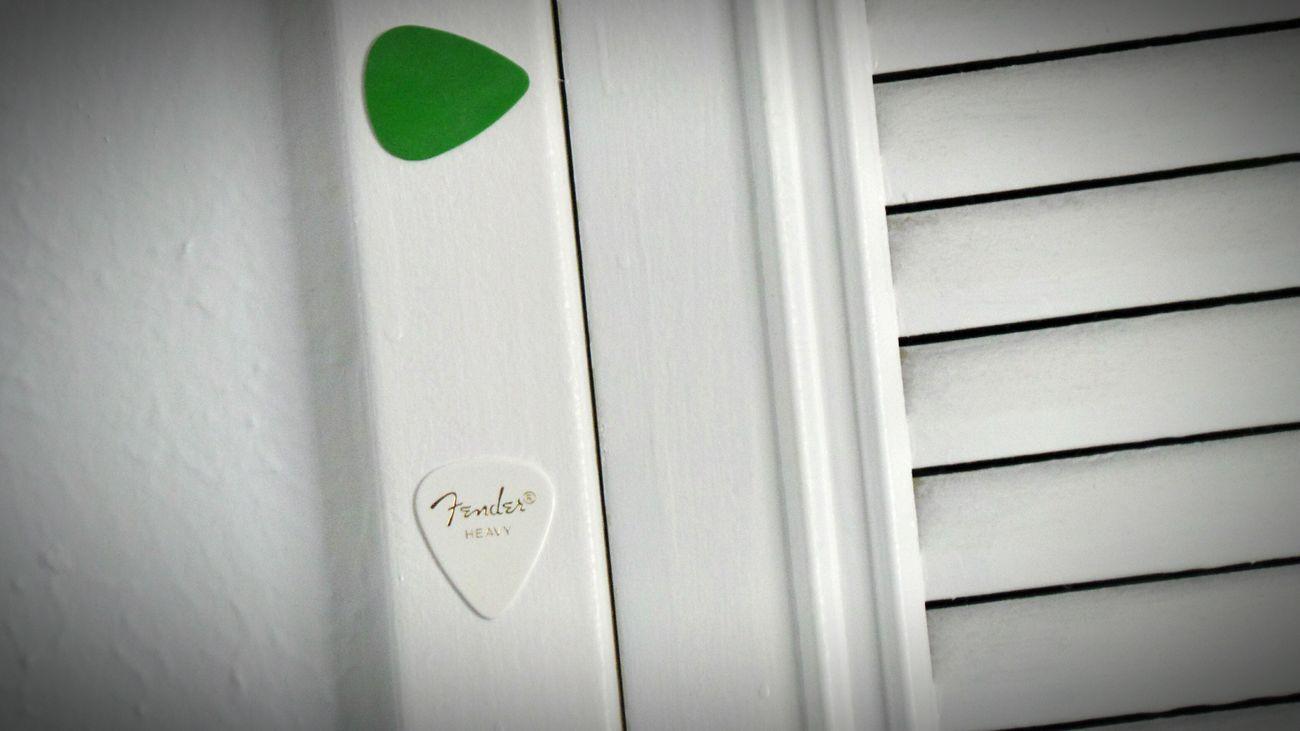 Indoors  Close-up Music Guitar Pick Guitar Picks Fender Perspective Macro