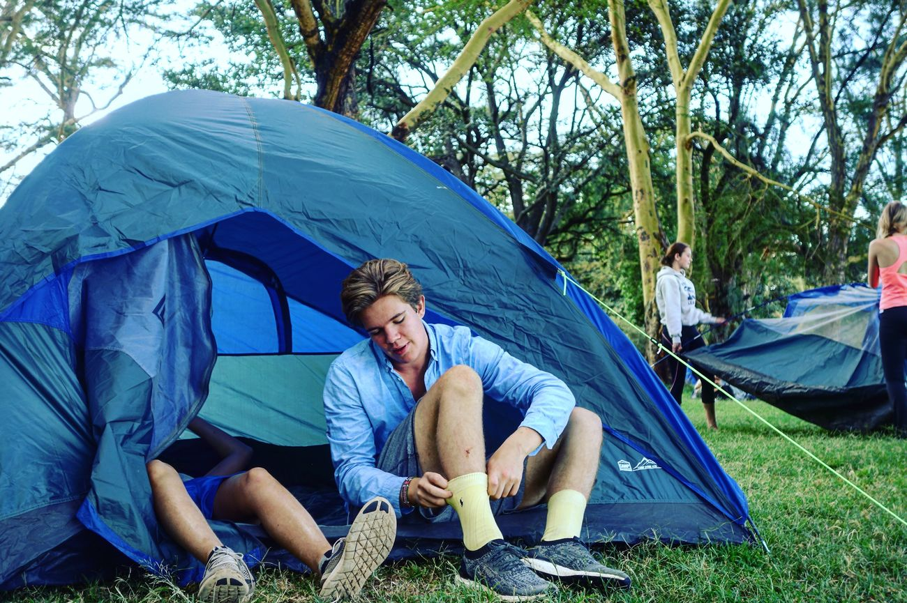 Perfect camping outfit Camping Kenya Camping Kenya Camping Trip! Tent