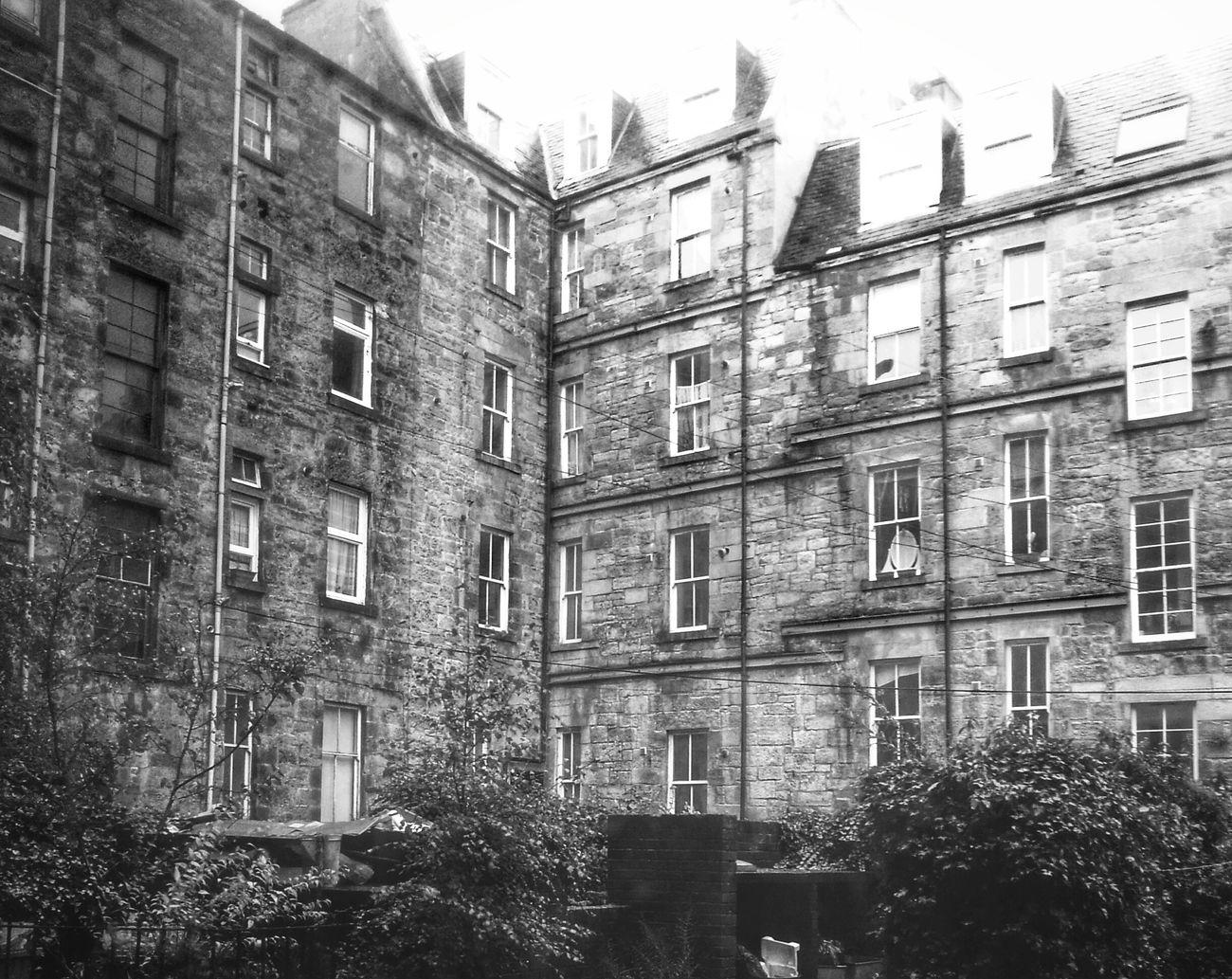 Tenements Blackandwhite