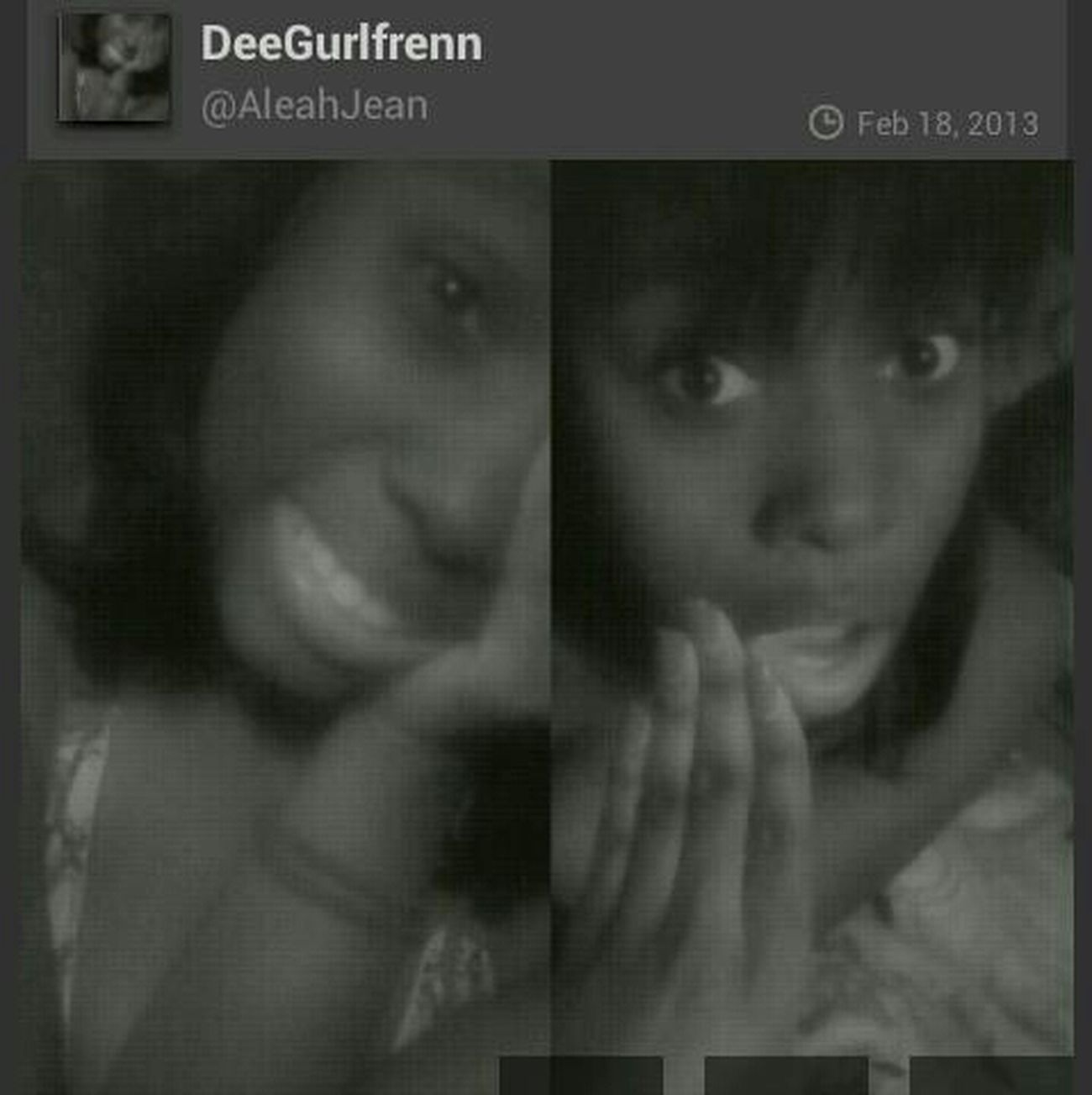 SHOUT TO DeeGurlfrenn ! #SHOUTOUTS #TEAMFOLLOWBACK Shout Out To This Cutie , Follow Her !!!!! Shout Out @AleahJean