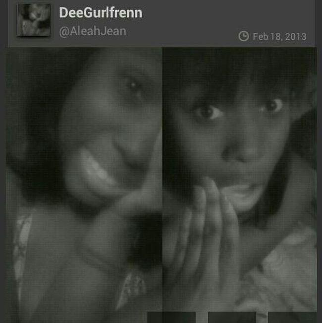 SHOUT TO DeeGurlfrenn ! #SHOUTOUTS #TEAMFOLLOWBACK Shout Out To This Cutie , Follow Her !!!!! Shout Out @AleahJean