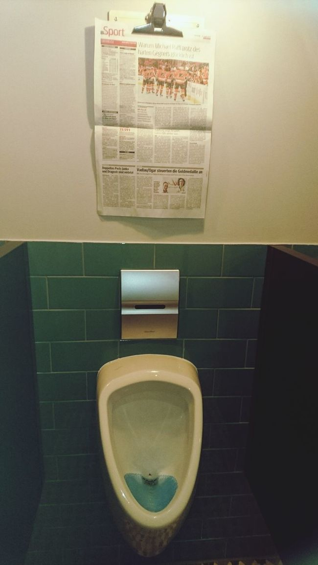 Best combination for manager Human Meets Technology Telling Stories Differently Newspaper Toilette Art