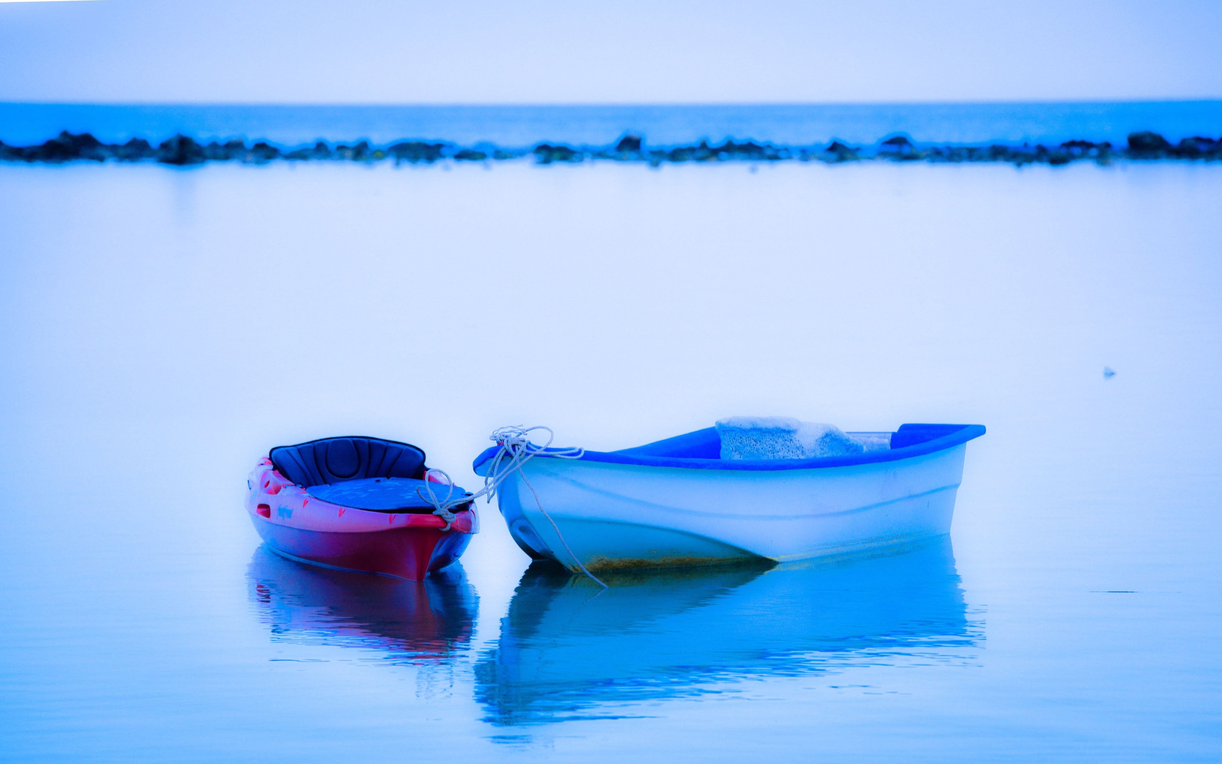 water, transportation, mode of transport, blue, nautical vessel, nature, outdoors, waterfront, beauty in nature, no people, tranquility, day, moored, horizon over water, sea, sky