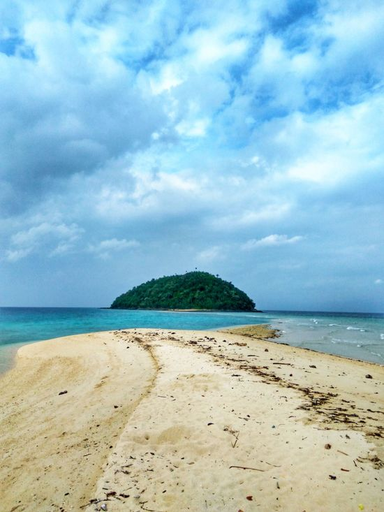 Sea Beach Cloud - Sky Blue Sand Nature Beauty In Nature Sky Water Horizon Over Water No People Tranquility Scenics Outdoors Tranquil Scene Postcard Day Landscape Eyeem Philippines Sandbar