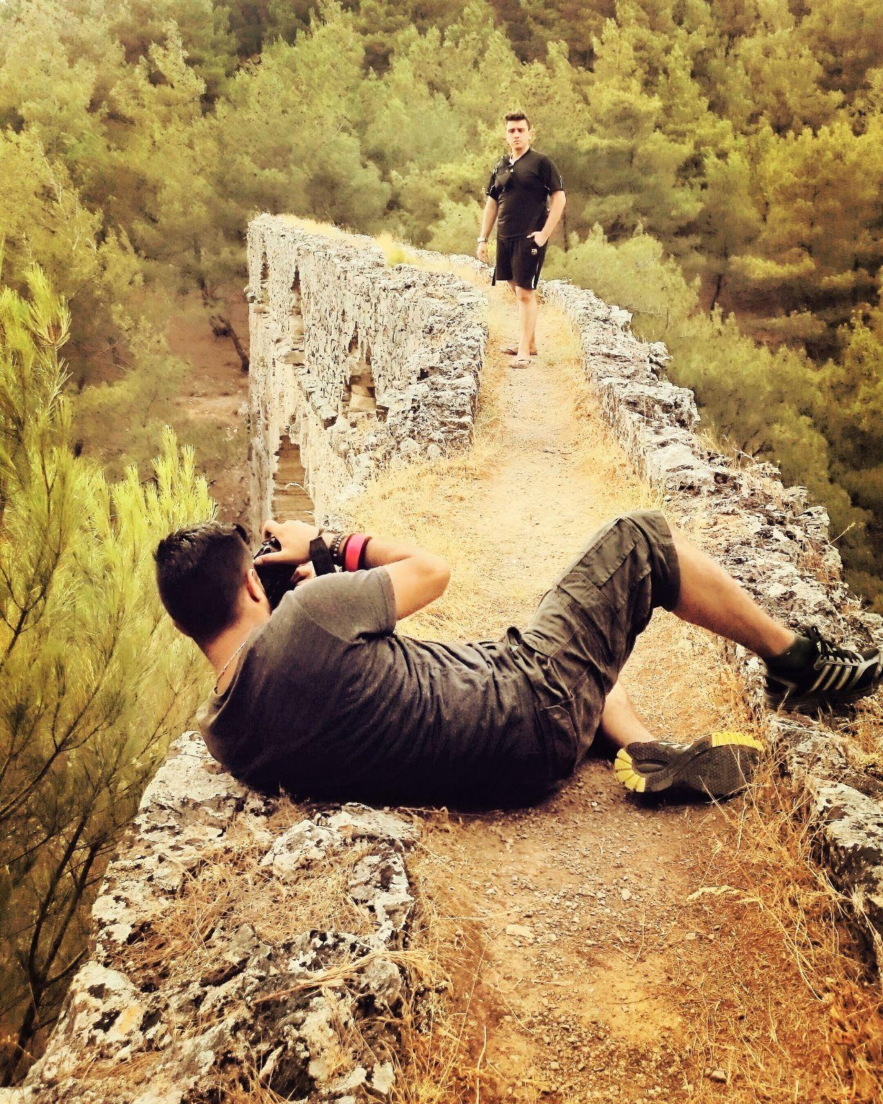 Roma döneminden kalan 2 bin yıllık su kemeri. Çanakkale Kemerdere Photography Canakkake World City Nature Photography Kemer Seyyah Traveling Worldtraveler