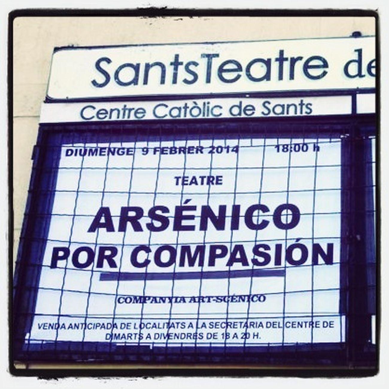 Volvemos a los escenarios. Con muchas ganas de hacer reír y ver al público disfrutar. Teatro SantsTeatre9Febrero Espectáculos