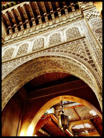 Mosque Gate Handcrafted