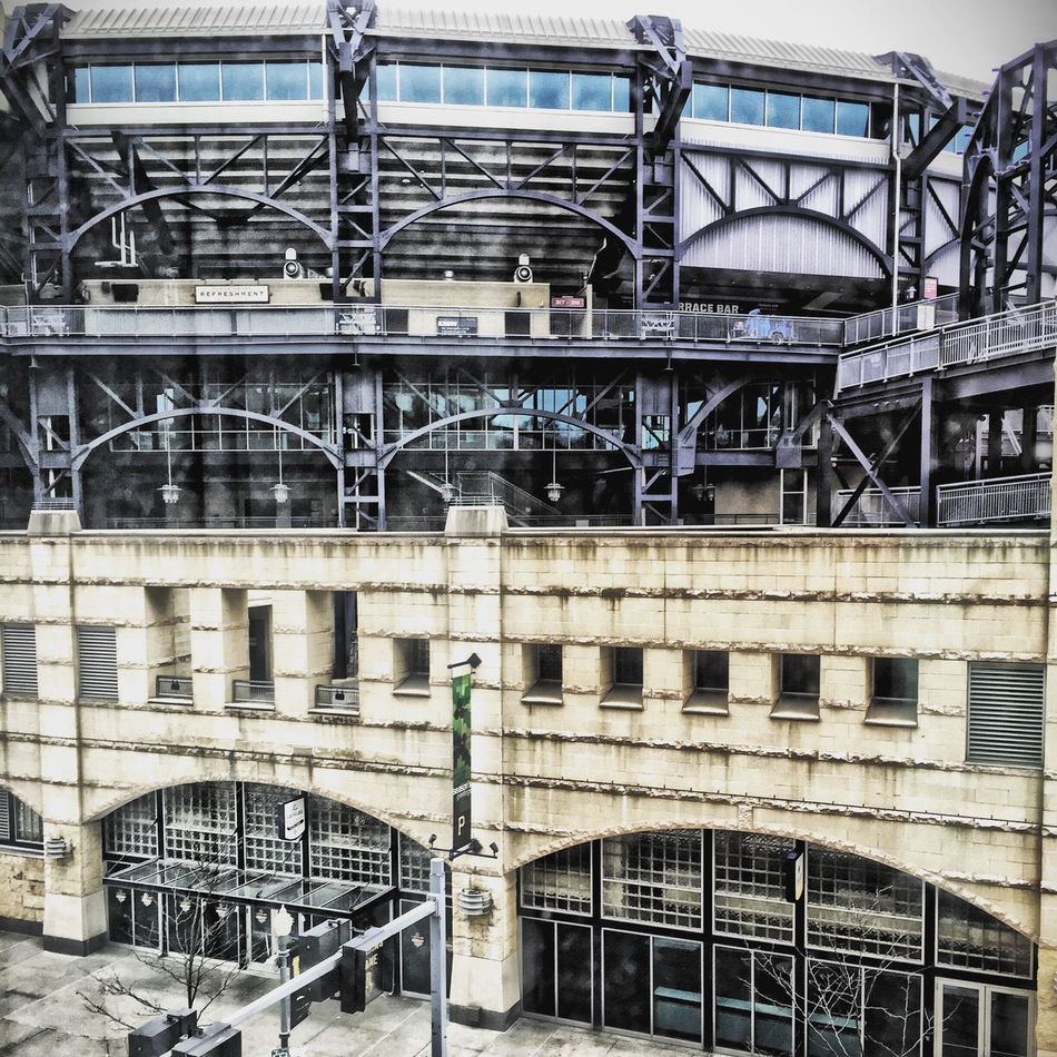 Pittsburgh Baseball Cityscapes Eye4photography  IPhoneography Popular Taking Photos Architectural Detail From My Point Of View PNC Park