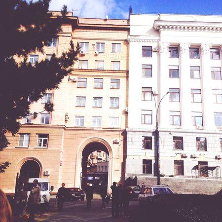 Architecture Russia City Bilding Road Sky