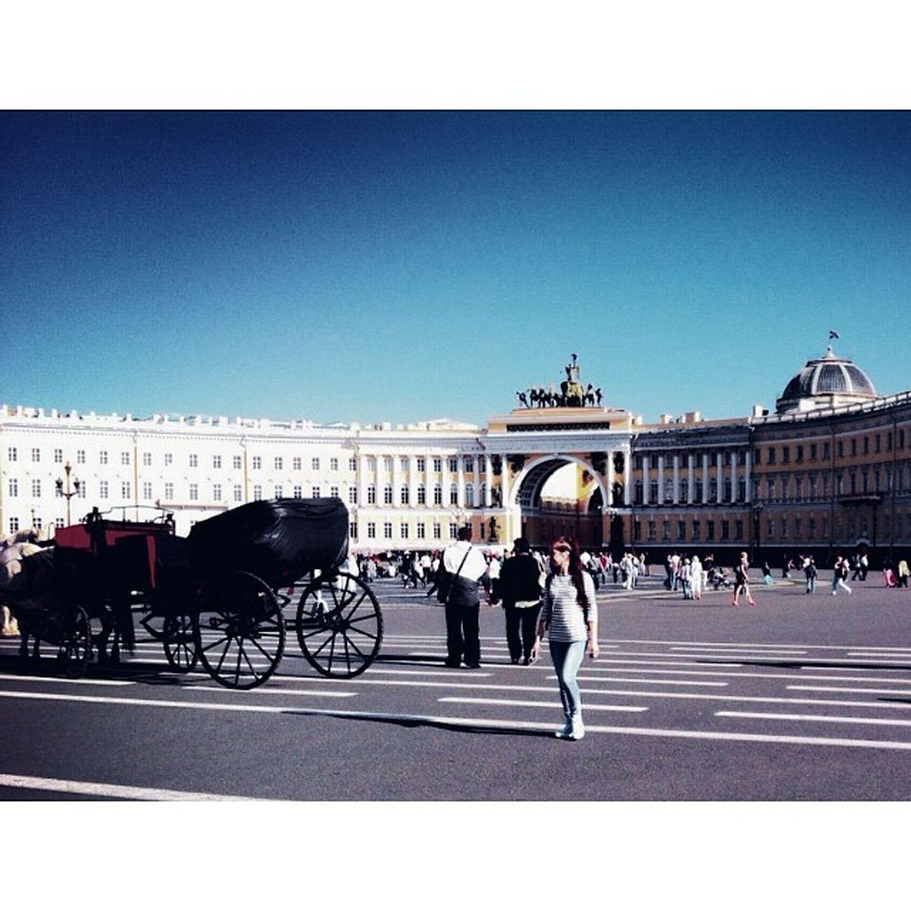 дворцоваяплощадь СанктПетербург петербург Питер спб площадь карета spb piter peterburg leningrad ленинград saintpeterburg