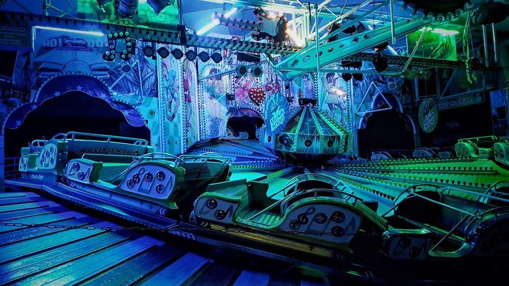 Night Outdoors Rummelplatz Kirmes Stadtfest No People Funfair🎡 Funfair Night Funfair