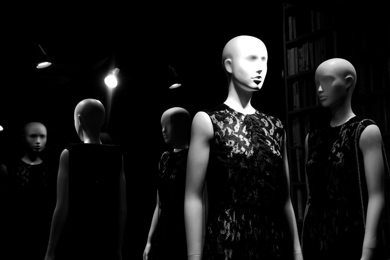 """""""Beyond two Souls"""" Black Background Blackandwhite Candlelight Darkness And Light Dress Face Fashion Fashion Photography Human Representation In A Row Large Group Of Objects Lit Model Nightphotography Shopping Eyeemphoto"""