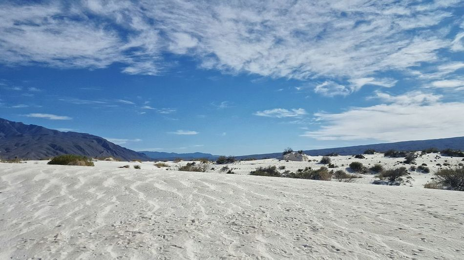 Dunas de Yeso, Mexico Mexico Nature Agriculture Cloud - Sky Outdoors Sky Landscape Day No People Sand Beauty In Nature Blue Scenics Desert Salt - Mineral Dunas De Yeso The Great Outdoors - 2017 EyeEm Awards