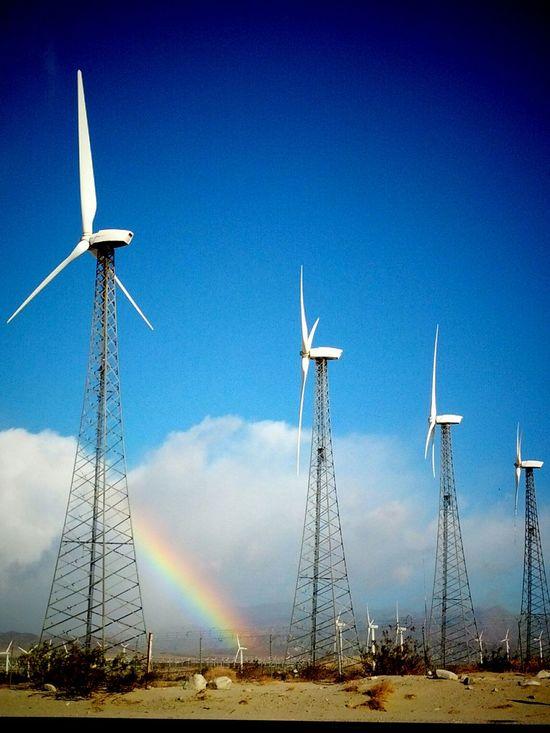 Olympus Epl5 Epl5 Rainbow Windmill The EyeEm Facebook Cover Challenge