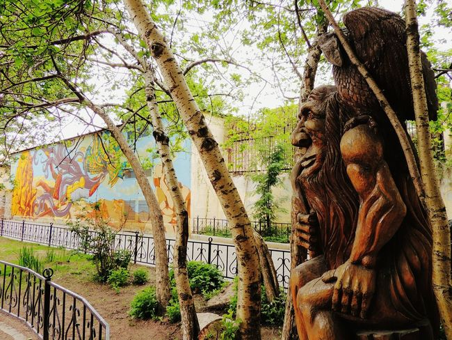 Lukomorye Wood Goblin Fairytale  Forest Sankt-Petersburg Old City Russia Trees Street Photography Your Design Story