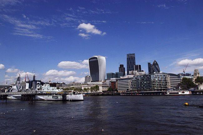 Támesis, London Water Waterfront Architecture Sky Built Structure City Skyscraper Architecture River Jorge L. Españoles Y Sus Fotos