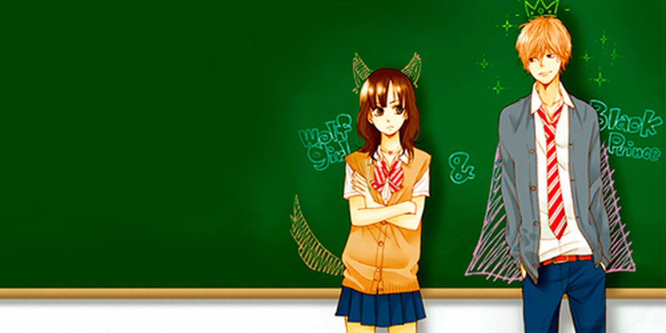 Moor olha o anime q ela e a cachorrinha deele. Igual seu ppai falo ! Ookami Shoujo To Kuro Ouji Lovelovelove Anime Auau