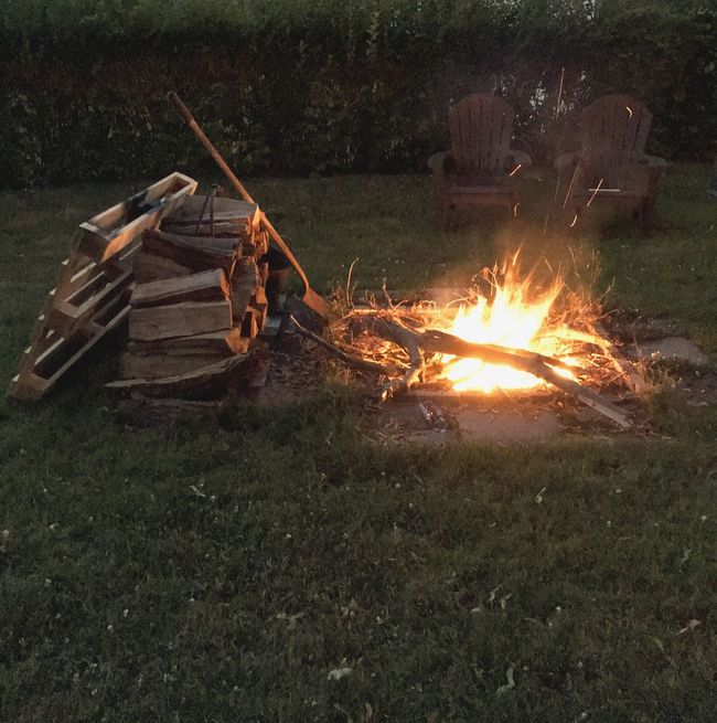 Firepits Fun Day Fun Times With Friends Waiting For Fireworks after a great meal Smoke♥ Fire And Flames Fire Sparks Lawn Hedges Two Chairs dibs on one 😊😜👍🏼 Firewood Ansonia Ct. Free Spirit Iphone 6 Missing My Nikon Freehand On Vacation or moving? 🤔🙄😘 Hmmm Shovel