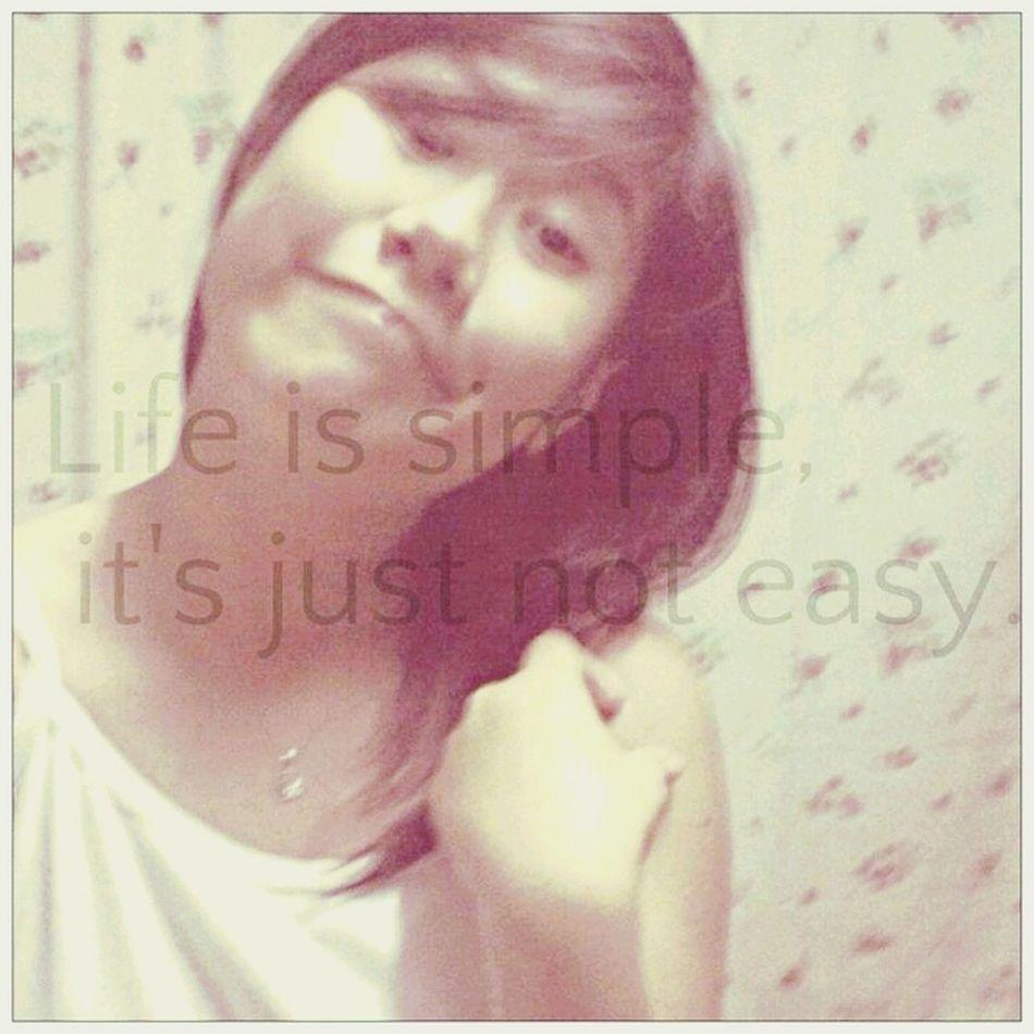damn true. Enjoying Life Simple. Just Smile ♥ Likeforlike