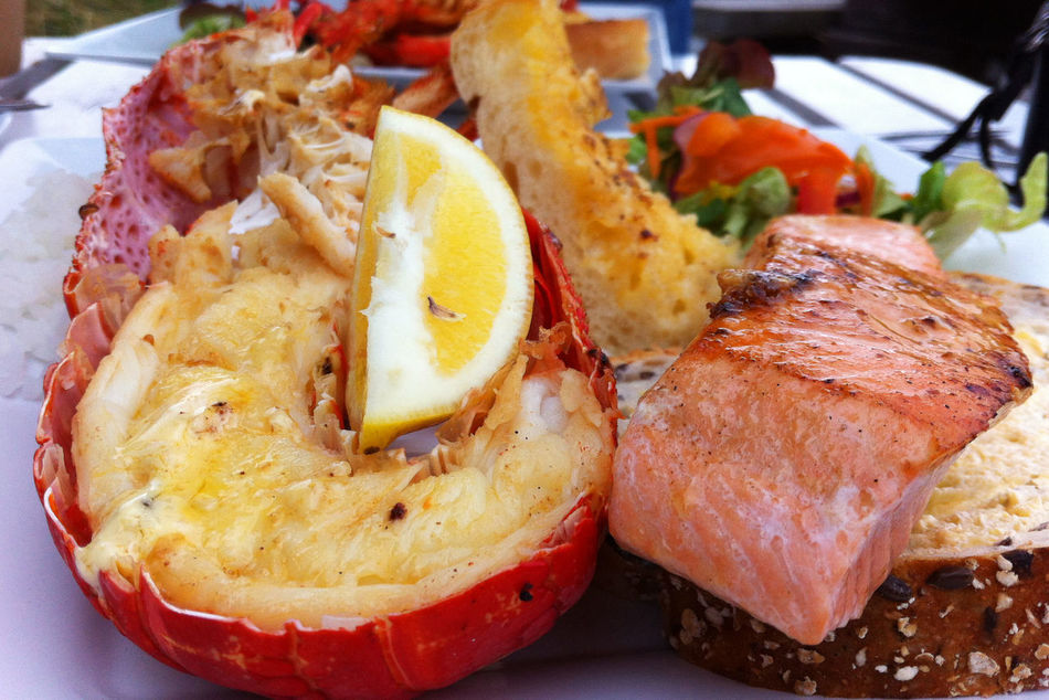 Beautiful stock photos of lobster, Citrus Fruit, Close-Up, Day, Food