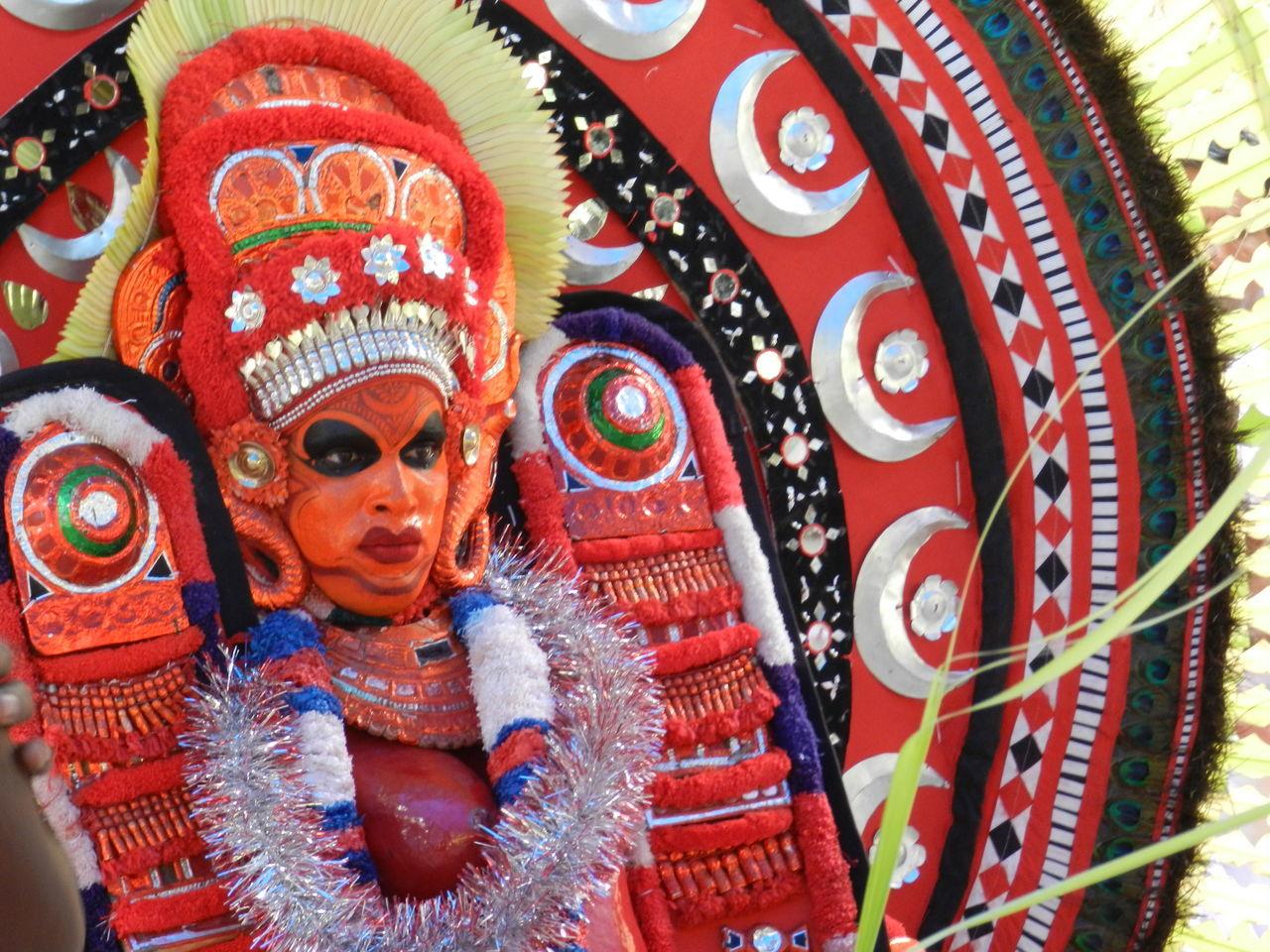 Drawing Faces Of EyeEm Folk Folk Rituals Folk Tradition Folkart Kerala India Rituals & Cultural Theyyam Tribal