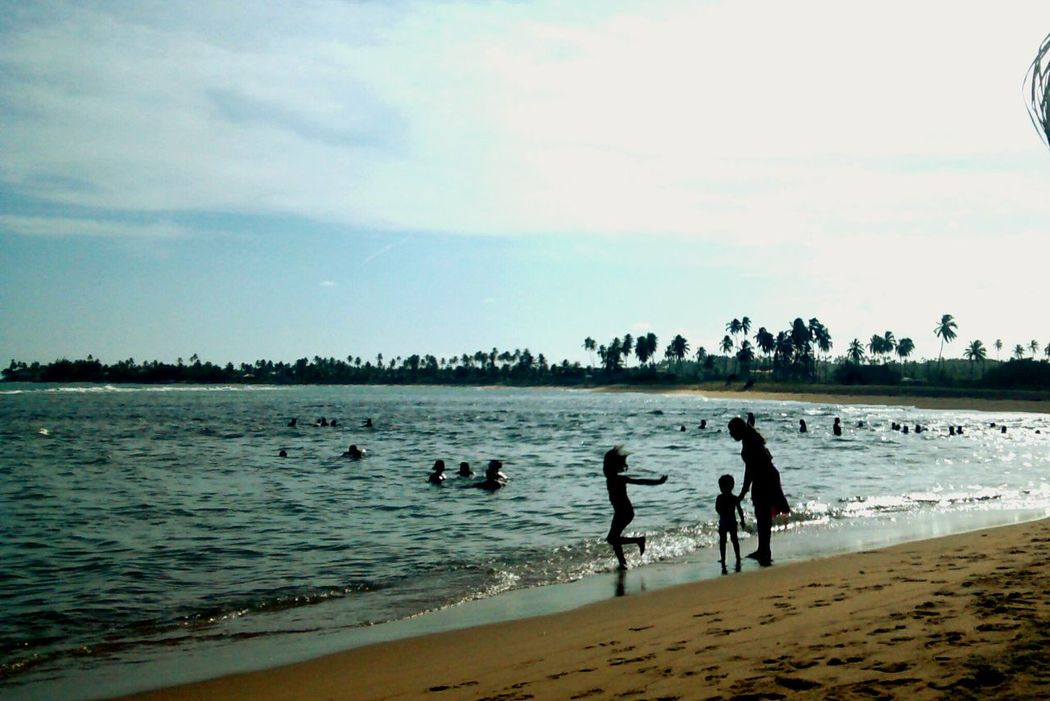The one! Happy People Beach Child Brazil Alagoas