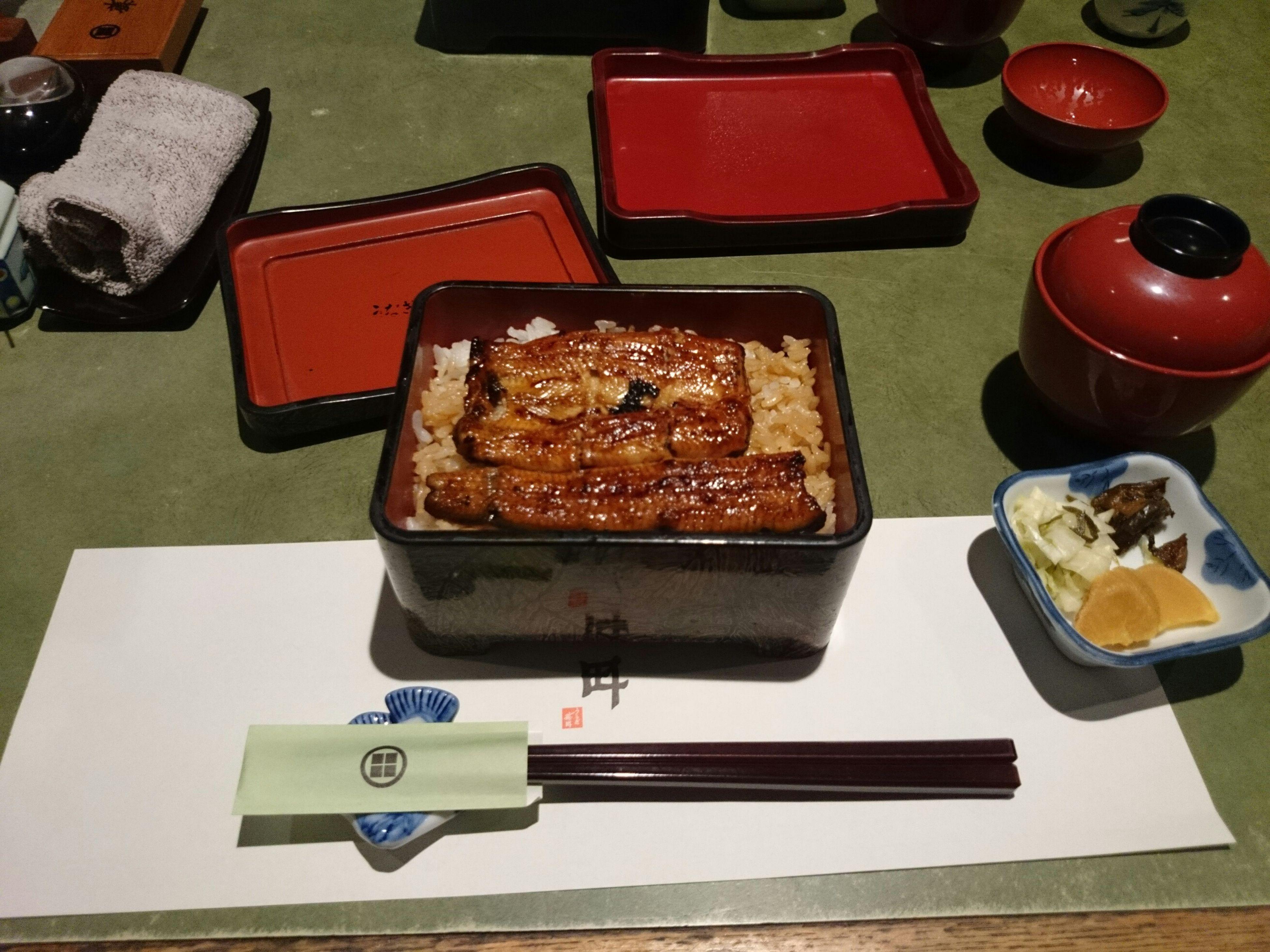 念願の!うな重!!!! Eel Delicious Yummmy Good